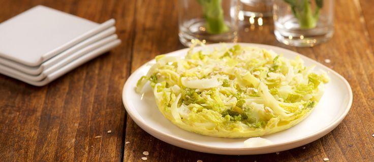 Une recette traditionnelle italienne revisitée par Alain Ducasse. Préparée ici avec du chou, elle s'adapte à tous les autres légumes....