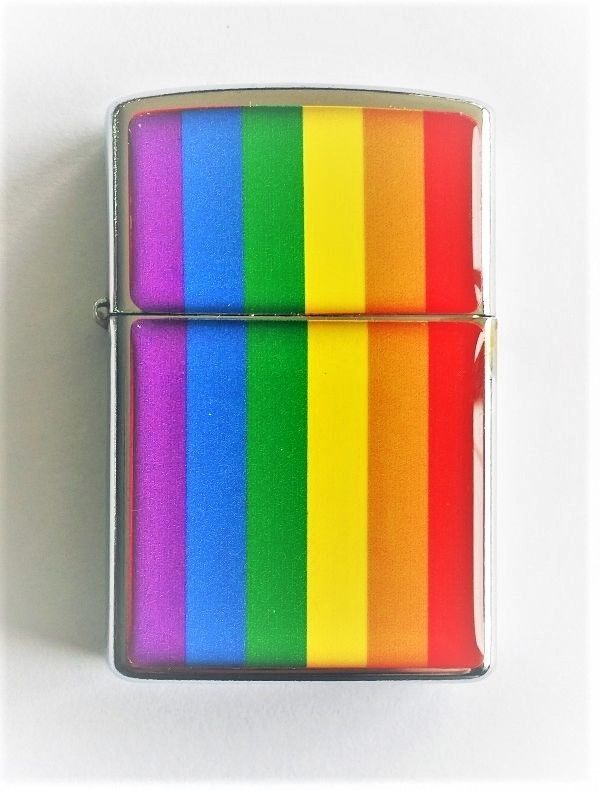 LGBT - Rainbow  Lighter Torch Lighter Gift For Friends Gift, Colourful