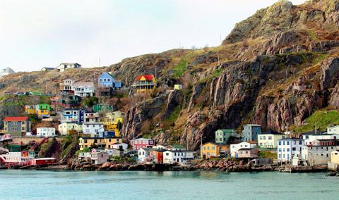The Battery, St John`s, Newfoundland