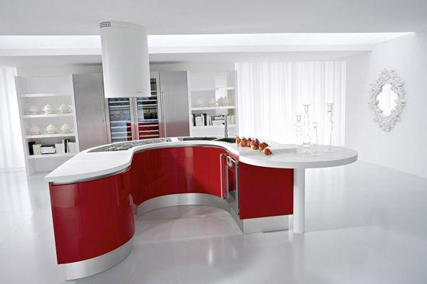 Cucina rossa: Vi siete innamorati del rosso per la vostra cucina? Ecco 24 idee di abbinamento…