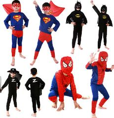 Costume di carnevale per bambino, Superman, Batman, Zorro, Spiderman. http://s.click.aliexpress.com/e/fuzzbiy
