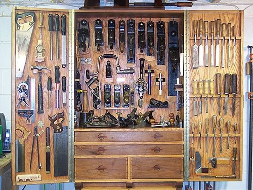 174 Best Woodworking Tool Cabinet Wall Images On Pinterest Tool