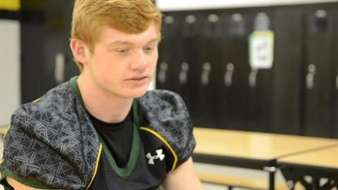 Abingdon-Avon High School senior Zach Glisan was named the Register-Mail All-Area football player of the year.