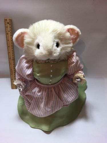 Ma Mouse Very Old IN Green Dress Mouse in Pink Apron Dress Plush Toy,Area Mum in Toys & Games, Soft Toys & Stuffed Animals, Branded Soft Toys | eBay