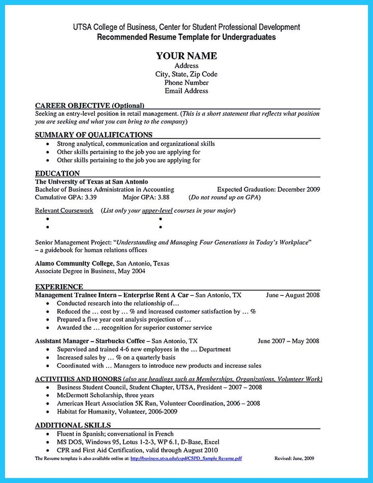 1000  ideas about student resume on pinterest