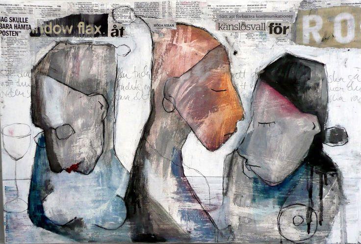 Carola Kastman-: Simple sketches from years gone by. & Kierkegaard again