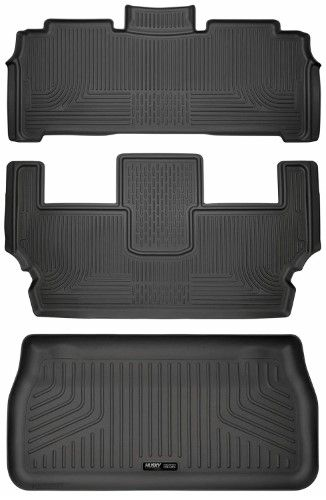 Husky Liners Weatherbeater Series Second & Third Row