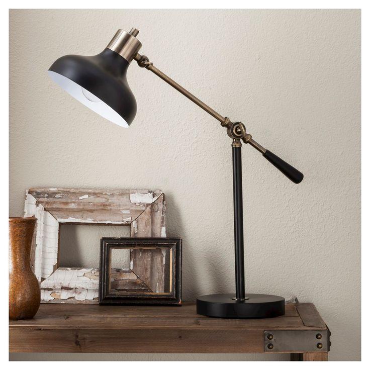 Crosby Schoolhouse Desk Lamp Black Threshold™ Black