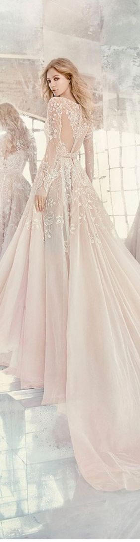{Wedding dress Hayley Paige by JLM Couture Spring-Summer 2016}