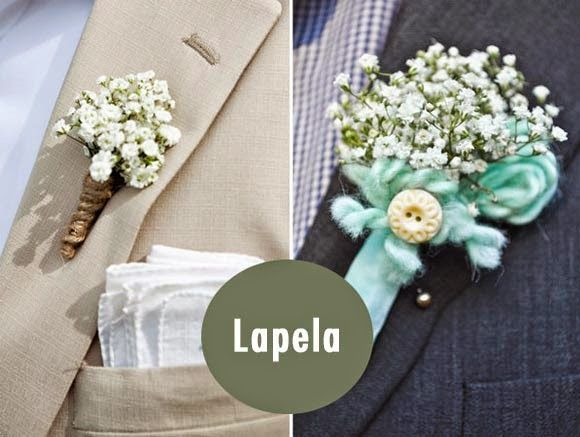 flor lapela rústico - Google Search