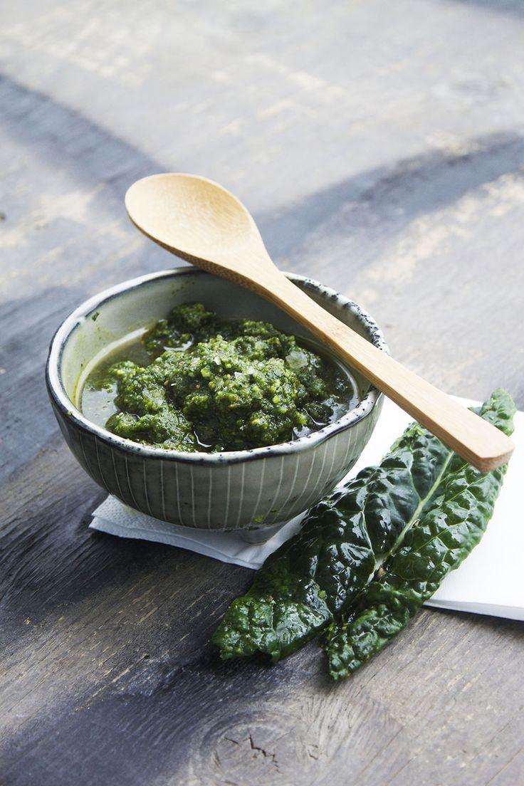 Kålpesto // Cabbage pesto