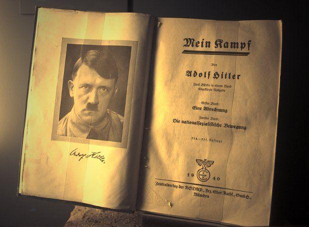 "mini.press: Στη Γερμανία επανεκδίδεται ""Ο Αγών μου"""