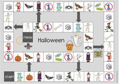 """Ideenreise: Spielfeld """"Halloween"""""""