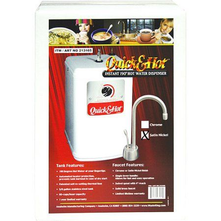 Waste King Hot Water Dispenser Chrome Silver Products