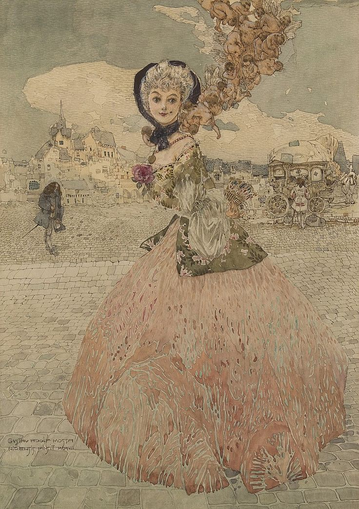 GUSTAV ADOLF MOSSA  - Manon