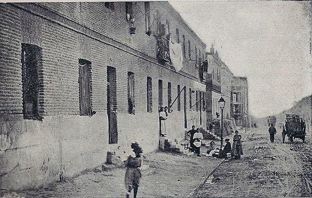 1914. El otro Madrid. Calle de Fernández de los Ríos | Flickr: Intercambio de fotos
