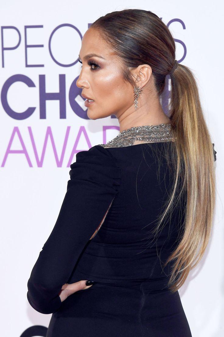 La coda di cavallo super liscia di Jennifer Lopez ha vinto tutto