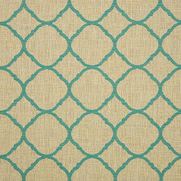 This is a blue and brown contemporary outdoor fabric by Sunbrella. This fabric is perfect for any indoor or outdoor use. Suitable for drapery, upholstery, umbrellas, or marine upholstery.v234ANNE