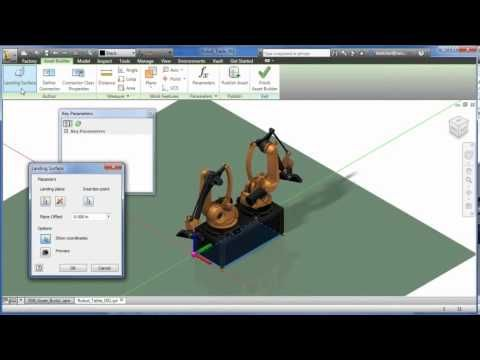 Factory Design Suite - Mechanical systems engineer video