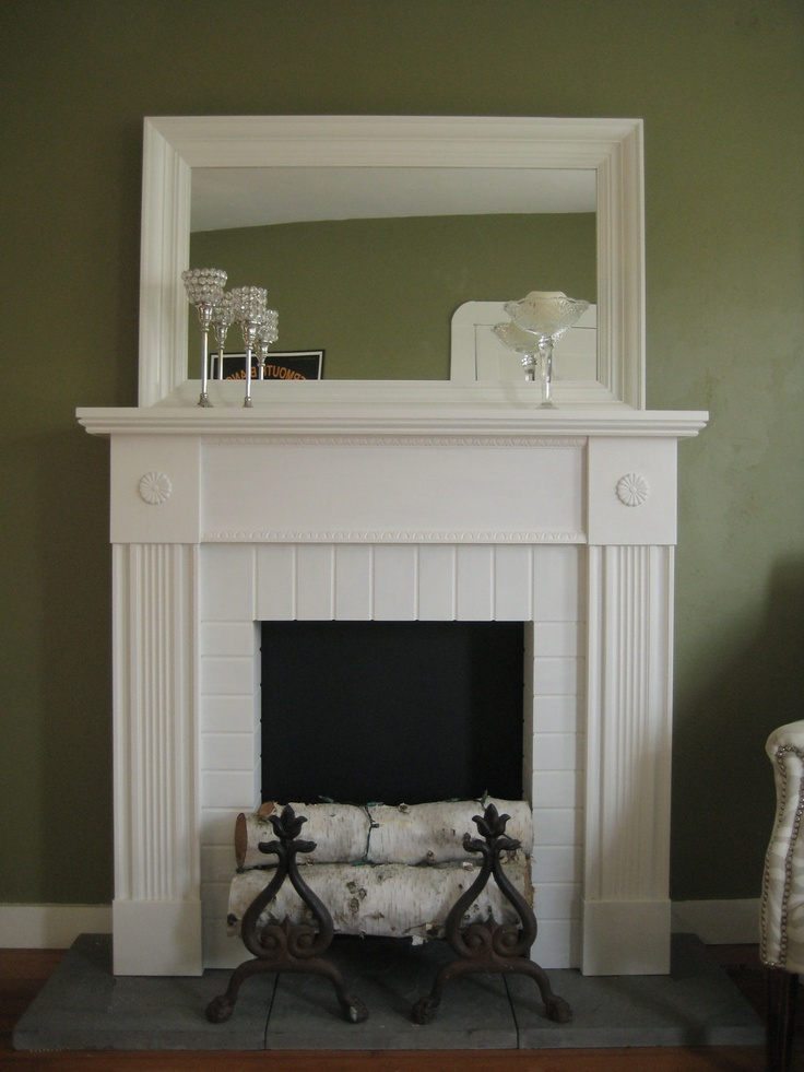 17 Best images about Faux Fireplace Ideas on Pinterest