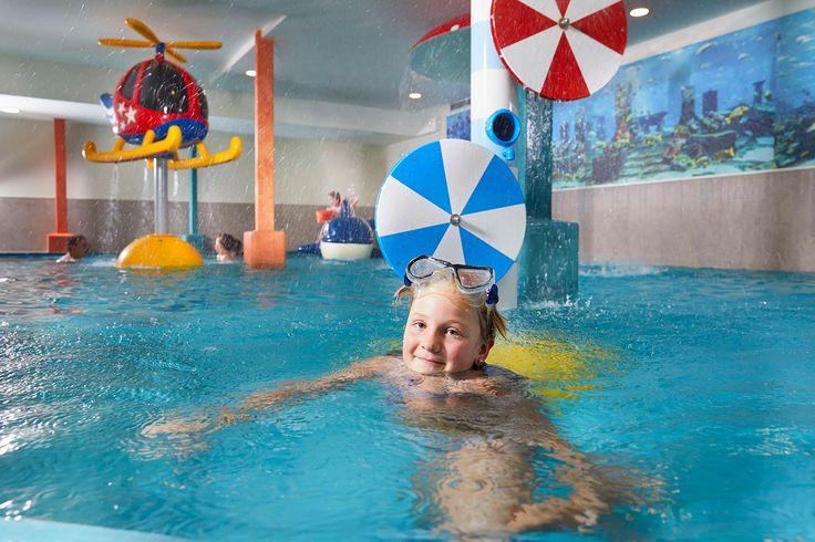 Wasserspaß für Kinder im Dolce Vita Hotel Feldhof
