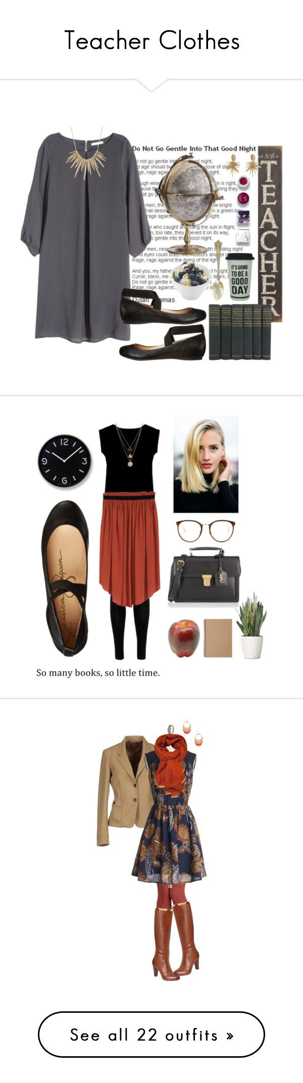 """""""Teacher Clothes"""" by flowersofthefield ❤ liked on Polyvore"""