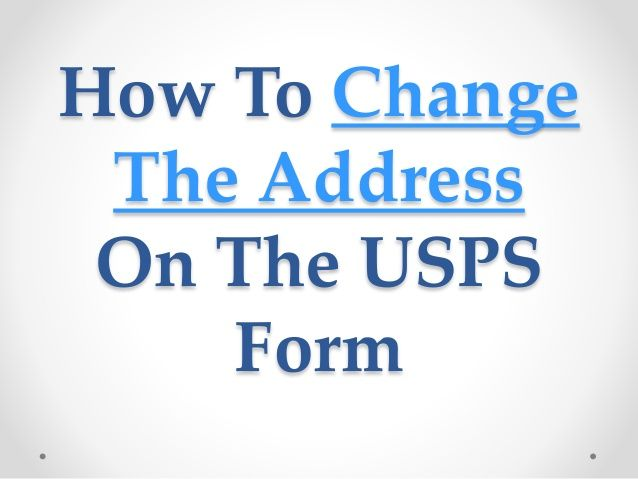 Best Usps Change Of Address Images On   Mail Station