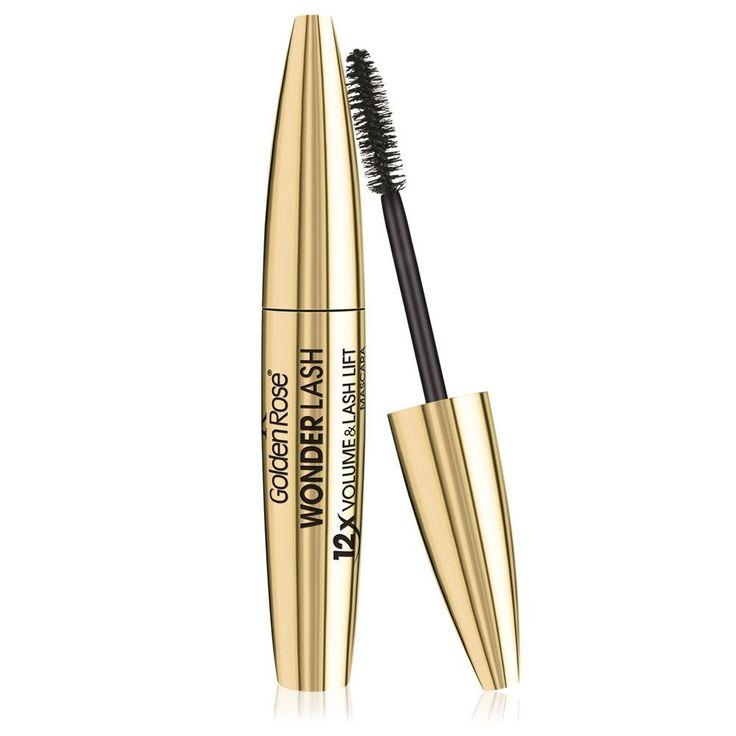 Golden Rose Cosmetics WonderLash 12x Volume & Lift Mascara #mascara