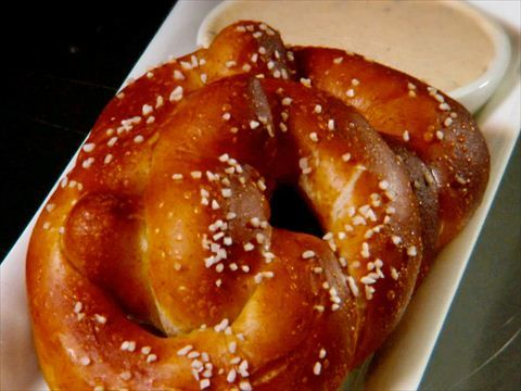 Homemade Soft Pretzels Recipe : Alton Brown : Food Network