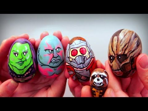 Artist Paints 62 Awesome Egg Characters for Easter «TwistedSifter