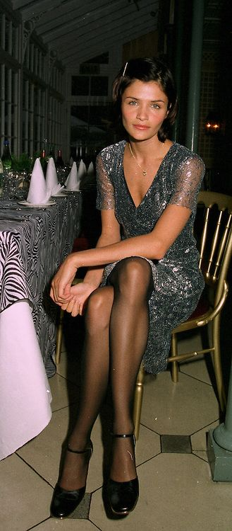 Top model HELENA CHRISTENSEN at a ball in London on 22nd May 1997.LYO 8