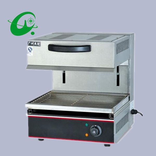 (496.00$)  Know more  - Adjustable Stainless Steel Electric Salamander Machine Electric BBQ grill machine