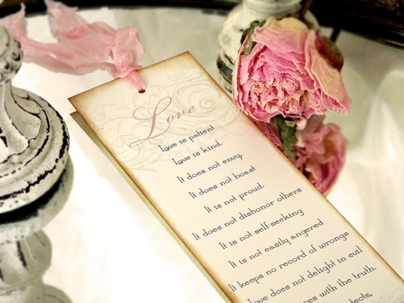 17 Best images about Bookmark Wedding Favors on Pinterest ...