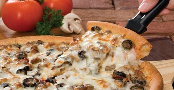Godfather's pizza. Yumm