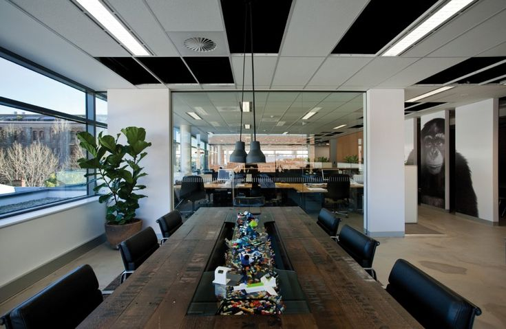 The Leo Burnett Office Interior by HASSELL.