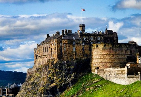 Edinburgh Castle, Edinburgh (Scotland)  I'll never forget going to Edinburgh Festival...