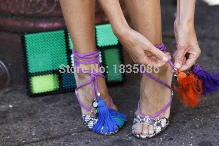 79.00$  Buy here - http://alikvq.worldwells.pw/go.php?t=32502761436 - luxury snakeskin donne gladiatore coscia tacchi alti pompe cinturini alla caviglia lace up sandali abito scarpe stivali donna