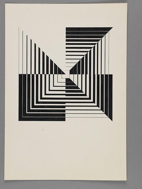 Hans G. Conrad: Arbeit aus dem Unterricht an der Hochschule für Gestaltung Ulm by ReneSpitz, via Flickr