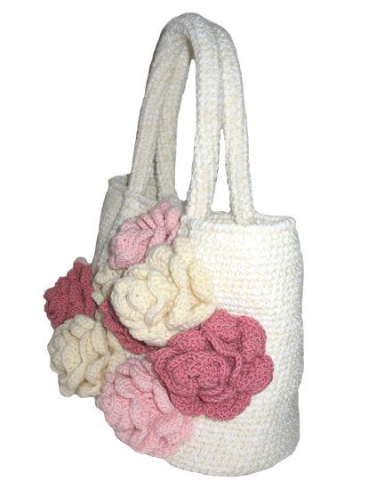 "chrocheted bag ""Cake"" by Gala Moiseeva"