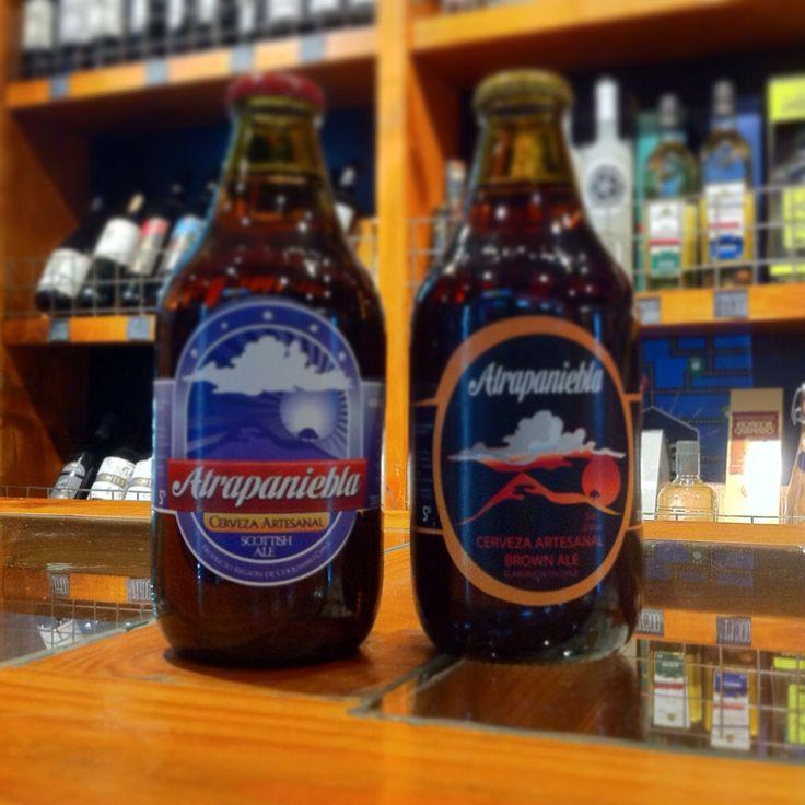 Las aguas mas puras del norte de Chile... cerveza atrapaniebla