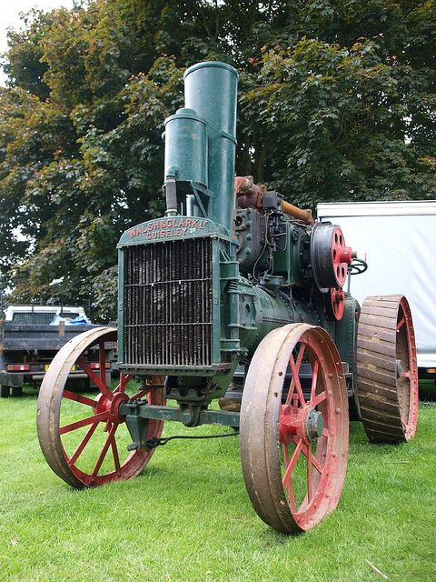 Farm Tractor (Walsh & Clark Ltd - Guiseley) - c1918