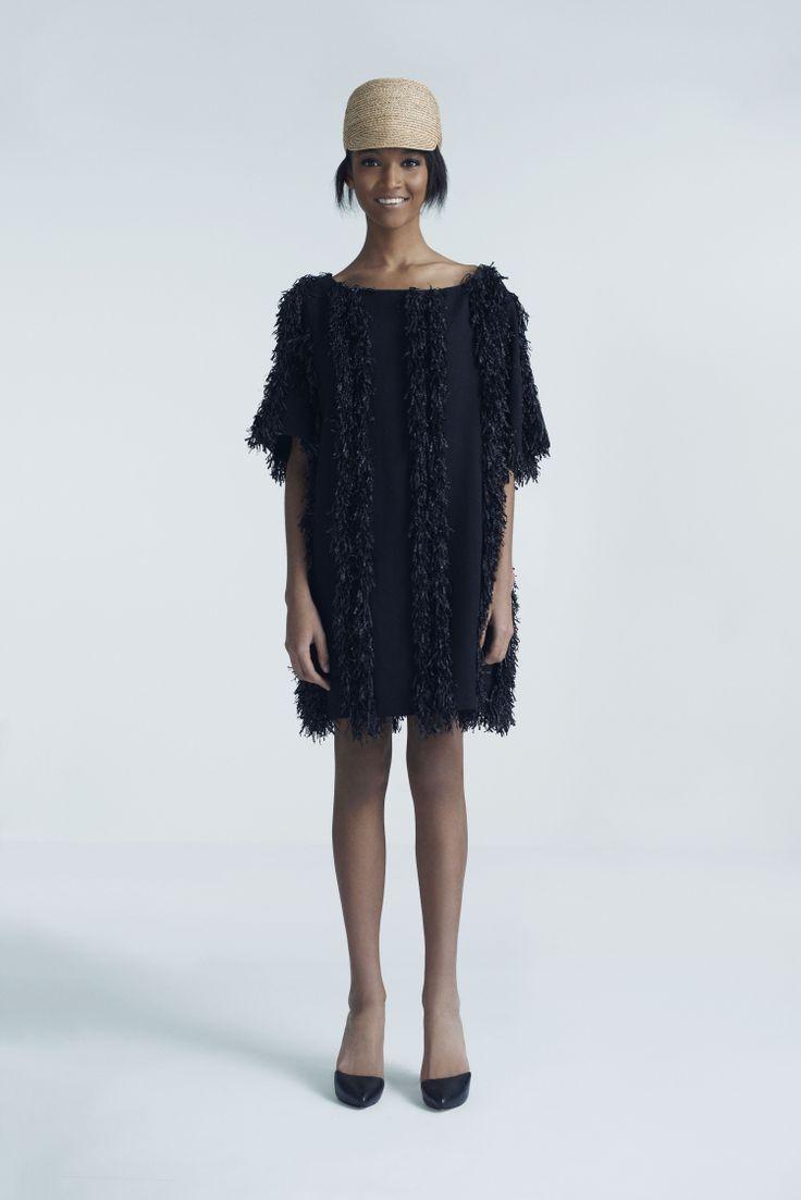 Safa Cap and Poppy Dress | Samuji Pre-Fall 2014 Collection