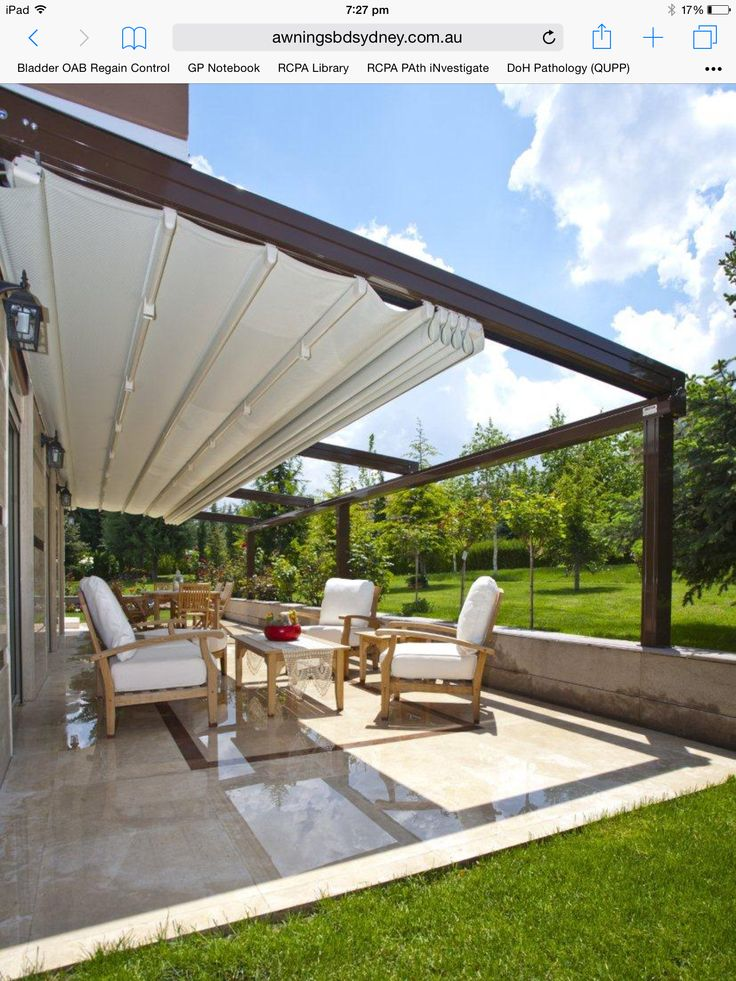 12 Best Retractable Shade Sails Images On Pinterest