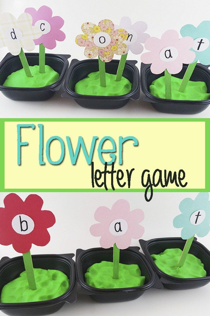 Flower Letter Game
