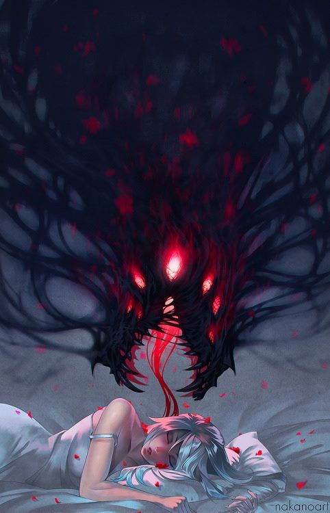 Sometimes dreams sometimes nightmareshttp://nakanoart.deviantart.com/