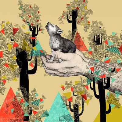 Sandra DieckmannBaby Wolves, Sandradieckmann, Dogs Art, Illustration, Art Prints, Colors Palettes, Baby Room, Sandra Dieckmann, Pets Art