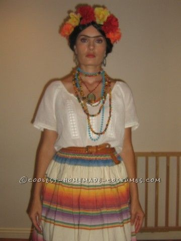 I got the idea for this easy homemade Frida Kahlo Halloween costume visiting a museum, and it actually turned out to be quite easy to put together. I ...