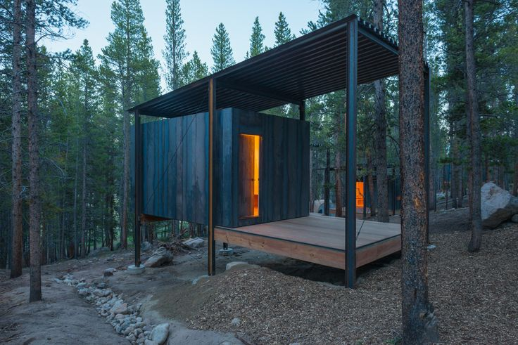 Gallery of Colorado Outward Bound Micro Cabins / University of Colorado Denver - 1
