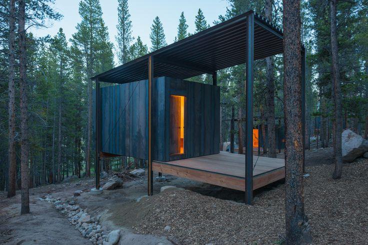 Gallery of Colorado Outward Bound Micro Cabins / University of Colorado Denver - 1