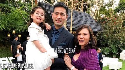 Scarlet Snow Belo at 2nd Dads Wedding! | موفيز هوم  Scarlet Snow Belo at 2nd Dads Wedding!